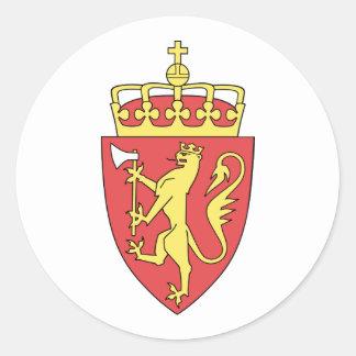 Norway, Norway Round Sticker