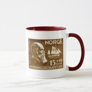 Norway Norwegian Colin Archer Rescue Society 50th Mug