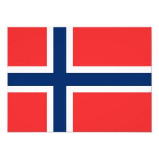 Norway - Norwegian Flag Art Photo