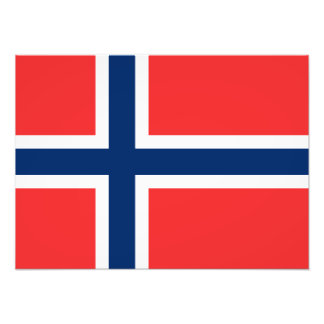Norway - Norwegian Flag Photo Print