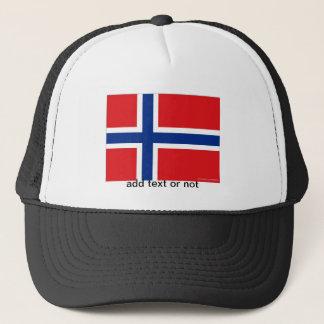 Norway norwegian flag souvenir hat