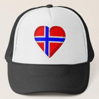 Norway Norwegian flag Trucker Hat