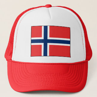 Norway - Norwegian Flag Trucker Hat