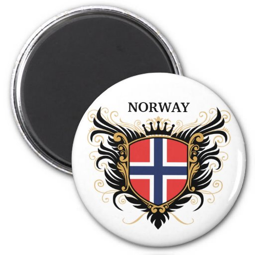 Norway [personalize] refrigerator magnets