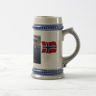 Norway, Port Authority vessel at the ready Beer Stein