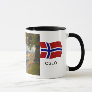 Norway,Port of Oslo; harbour Mug