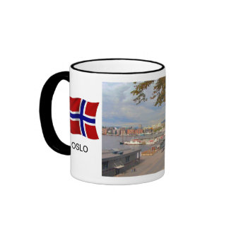 Norway Port of Oslo harbour Mugs