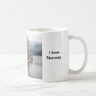 Norway, port on the north coast coffee mug