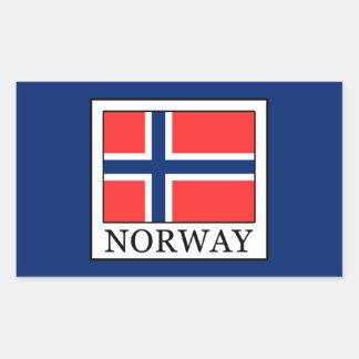 Norway Rectangular Sticker