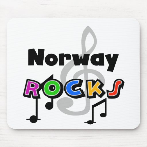 Norway Rocks Mouse Pads