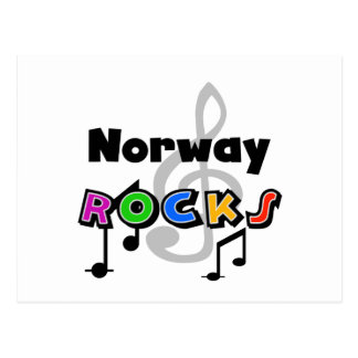 Norway Rocks Postcard