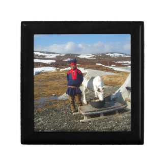 Norway, Sami settlement in Lapland Gift Box