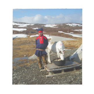 Norway, Sami settlement in Lapland Notepad