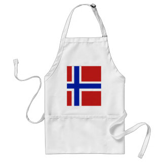 Norway Scandinavia Standard Apron