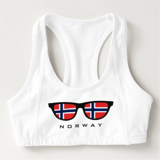 Norway Shades custom sports bra