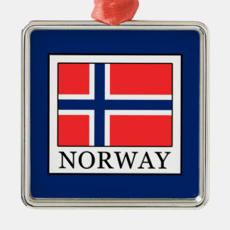 Norway Silver-Colored Square Decoration