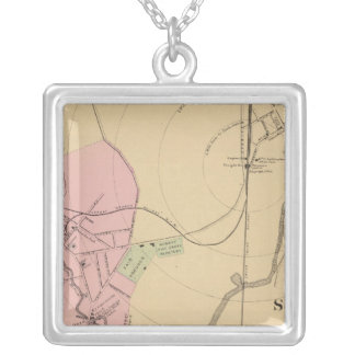 Norway, South Paris, Maine Silver Plated Necklace