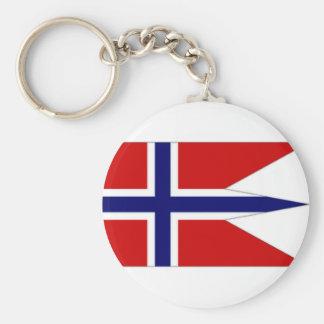 Norway State Flag Key Ring