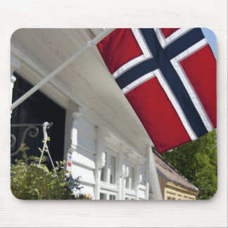 Norway, Stavanger. Historic downtown views. Mouse Pad