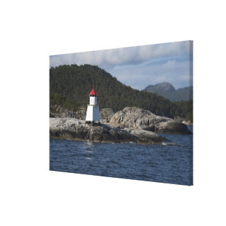 Norway, Stavanger. Views along Lysefjord. Canvas Print