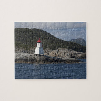 Norway, Stavanger. Views along Lysefjord. Jigsaw Puzzle