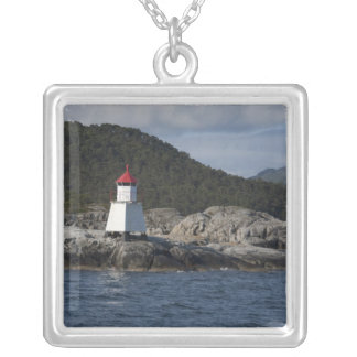 Norway, Stavanger. Views along Lysefjord. Silver Plated Necklace
