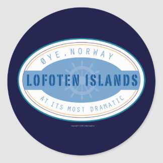 Norway-Sticker Classic Round Sticker
