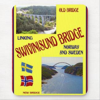 Norway,Svinisund bridge, border with Sweden Mouse Pad