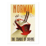 Norway - The Cradle of Skiing Postcards
