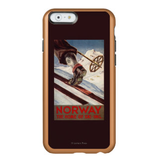 Norway - The Home of Skiing Incipio Feather® Shine iPhone 6 Case