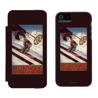Norway - The Home of Skiing Incipio Watson™ iPhone 5 Wallet Case