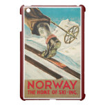 Norway The Home of Skiing Vintage Travel  Case For The iPad Mini
