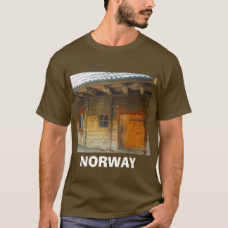 Norway, Traditional wooden farm house T-Shirt