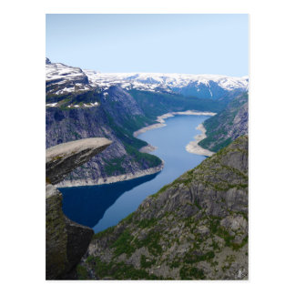 Norway - Trolltunga Postcard