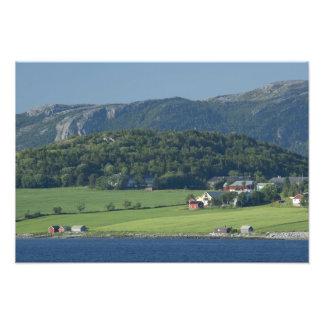 Norway, Trondheimsforden, Trondheim. Typical Art Photo
