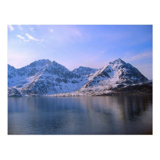 Norway, Voyage through the fijords Postcard