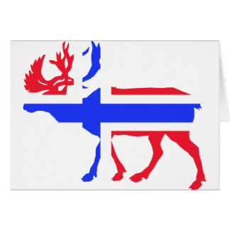 Norwege Elk Card