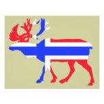 Norwege Elk Custom Invites