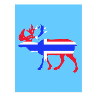 Norwege Elk Postcard