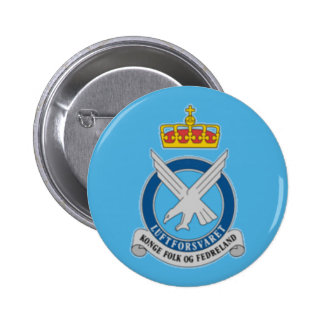 Norwegian Air Force 6 Cm Round Badge