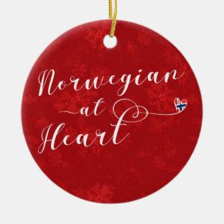 Norwegian At Heart, Christmas Tree Ornament