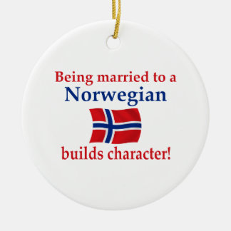 Norwegian Builds Character Christmas Ornament