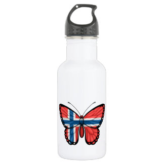 Norwegian Butterfly Flag 532 Ml Water Bottle