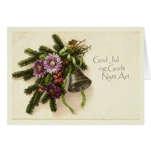 Norwegian Christmas Card | Zazzle