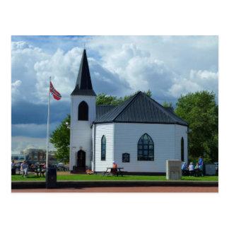 Norwegian Church, Cardiff, Wales Postcard