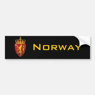 """""""Norwegian Coat of Arms"""" Bumper Stickers"""