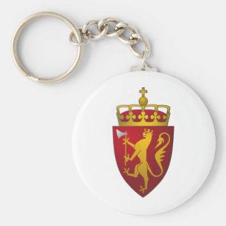 Norwegian Coat of Arms Key Ring