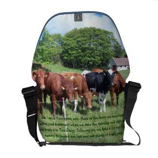 Norwegian cows Bag Courier Bag