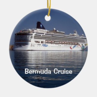 Norwegian Dawn, Bermuda Cruise Christmas Ornament