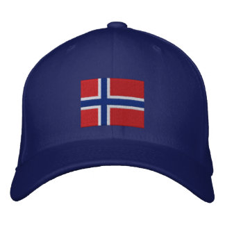 Norwegian Drinking Team Custom Embroidered Baseball Caps